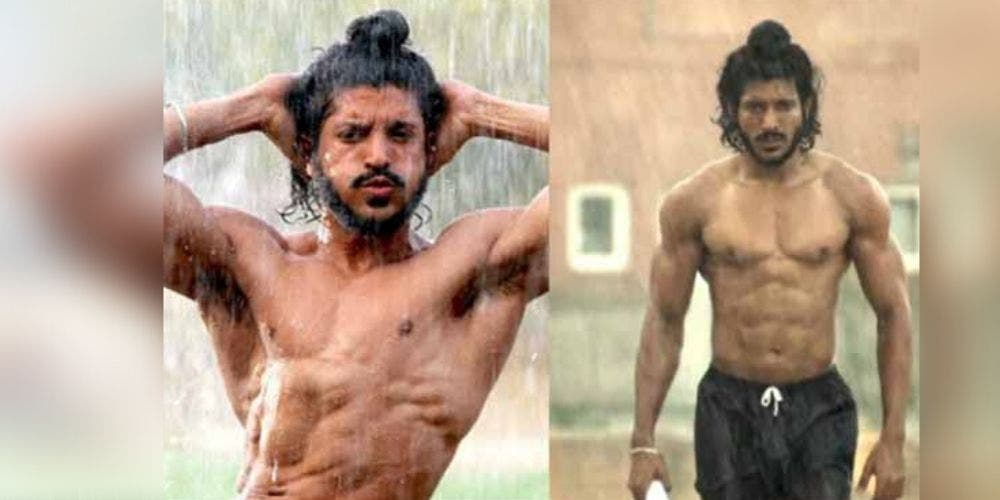 Bhaag Milkha Bhaag Farhan Akhtar weight transformation