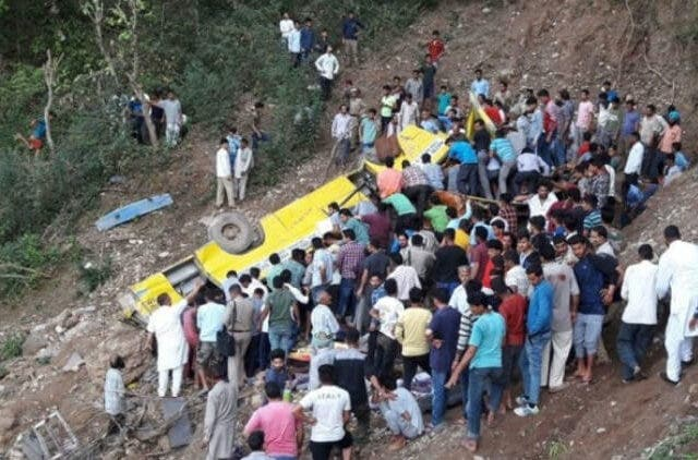 35-Students-On-Way-To-PM's-Himachal-Rally,-Injured-In-Bus-Accident-newws-dkoding