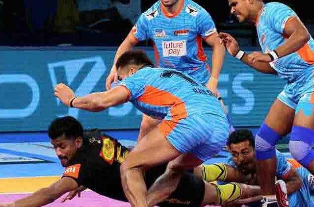 Pro-Kabaddi-League-UP-Yoddha-Bengal-Warriors-Rishank-Shrikantv-Sport-Dkoding