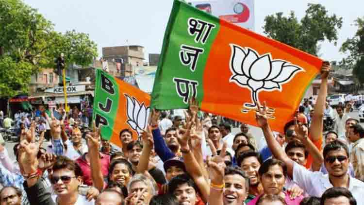 bjp-supporters-india-Newsline-Dkoding
