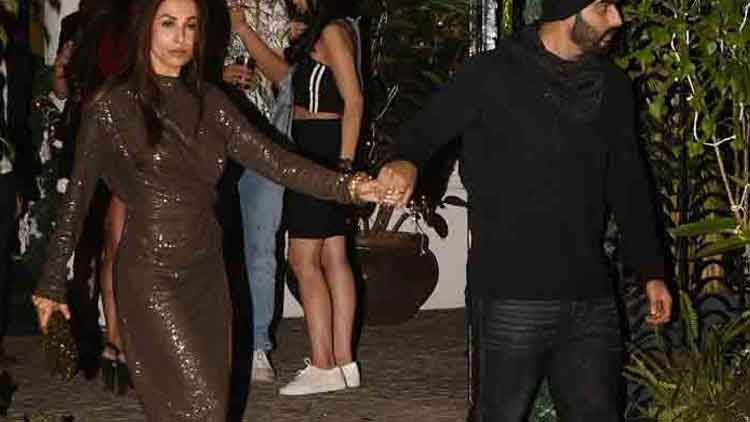Arjun Kapoor and Malaika Arora ring in New Year together