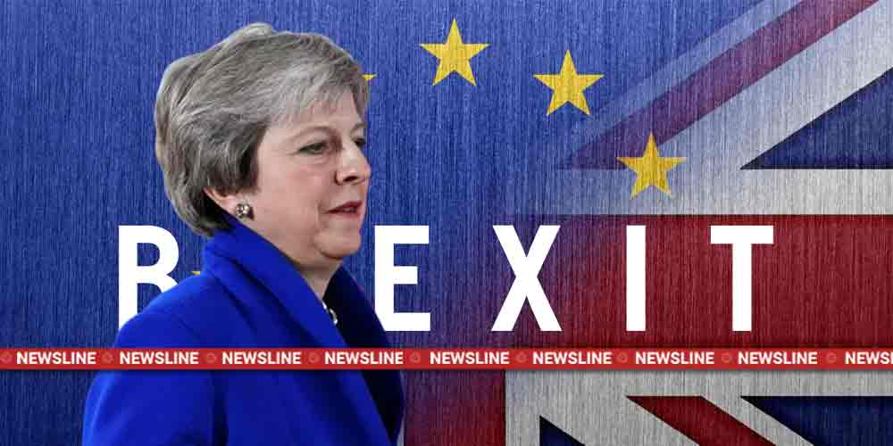 British PM Theresa May Brexit Global Newsline Dkoding
