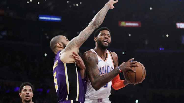 NBA-Oklahoma-City-Thunder-Los-Angeles-Lakers-basketball-Sport-Dkoding
