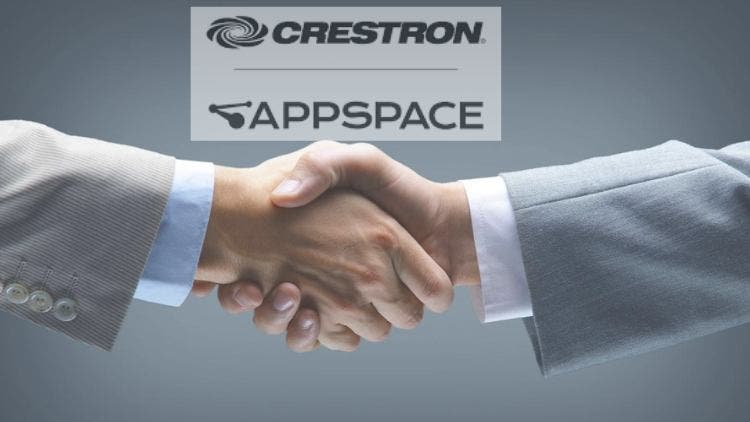 Crestron-Appspace -partnership-business-companies-dkoding