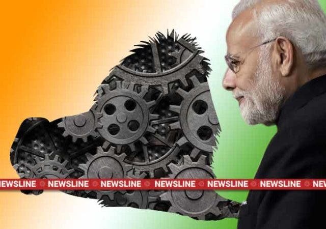 Newsline-Dkoding-make-in-india-narendra-modi-lion
