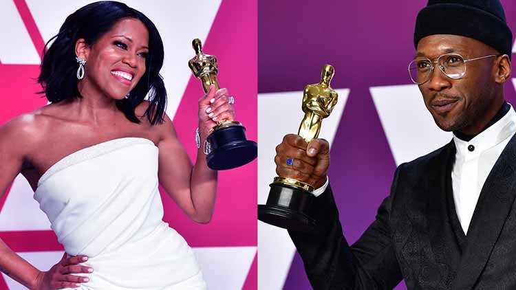 Oscars-2019-Mahershala-Ali-Regina-King-Green-Book-If-Beale-Street-could-Talk-Videos-Dkoding