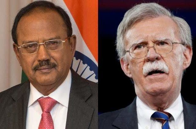 ajit-doval-John-Bolton-pulwama-terror-attack-politics-india-and-US-securities-dkoding