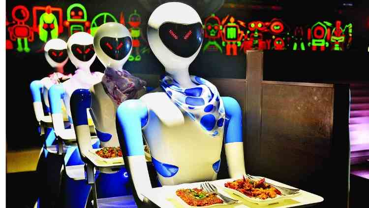 chennai-first-eatery-robot-waiters-news-dkoding
