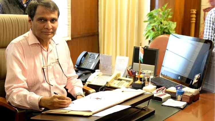 suresh-prabhu-union-minister-of-commerc-and-industry-news-more-dkoding