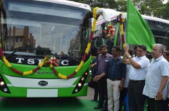 40-Electric-buses-launched- by-Olectra-BYD-in- Hyderabad-more-news-Dkoding