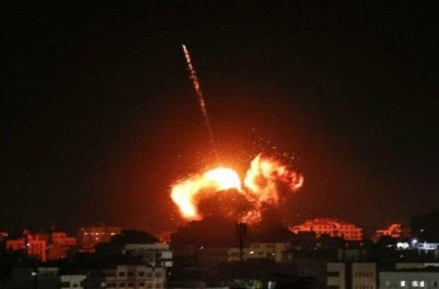 Israeli-military-attacks-Gaza-response-rocket attack-More-News-DKODING