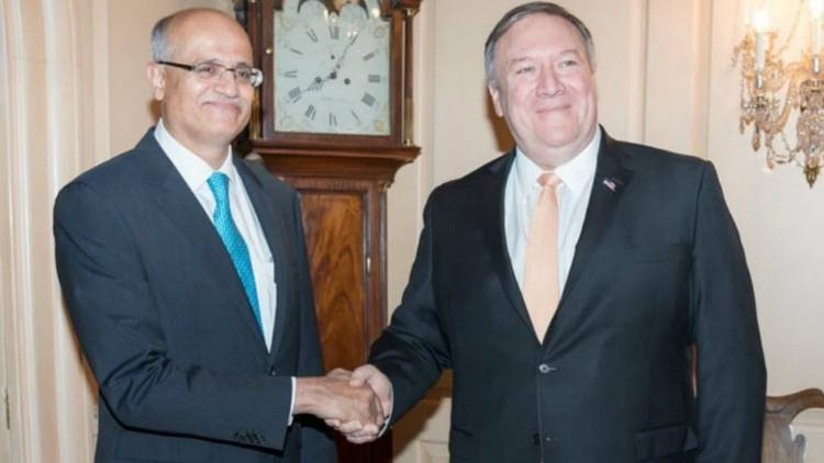 Michael-R-Pompeo-Vijay-Gokhale-reaffirms-support-to-India-politic-global-Dkoding