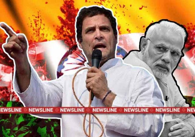 Newsline-Dkoding-Rahul-Gandhi-congress-Narendra-Modi-BJP-india-election-2019