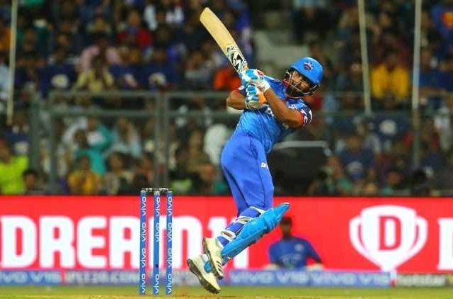 Rishabh-Pant-hiiting-a-shot-against-Mumbai-Indians-Ipl-cricket-sports-DKODING