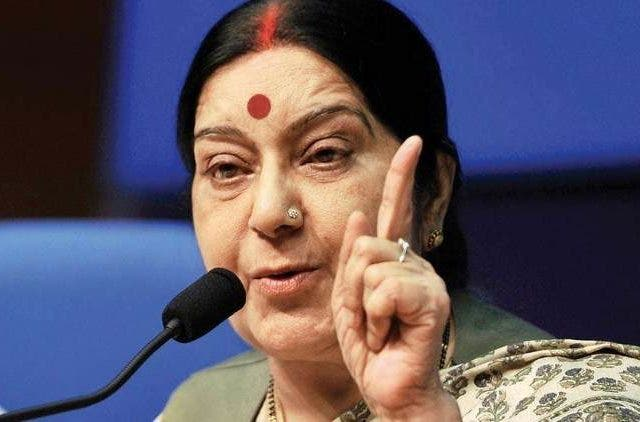 UNSC-Swaraj-swaraj-no-talks-with-pakistan-until-act-against-terrorist-Politics-India-DKODING