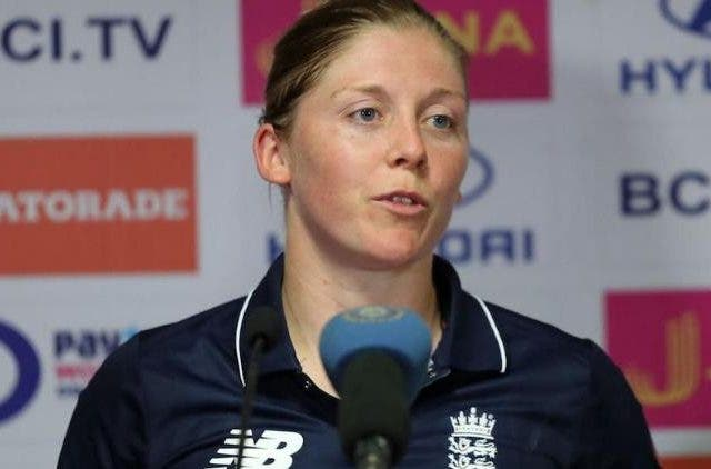 Heather Knight-ODI-india-england-dkoding