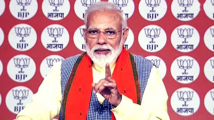 narendra-Modi-attack on opposition-parties-politics-India-Dkoding