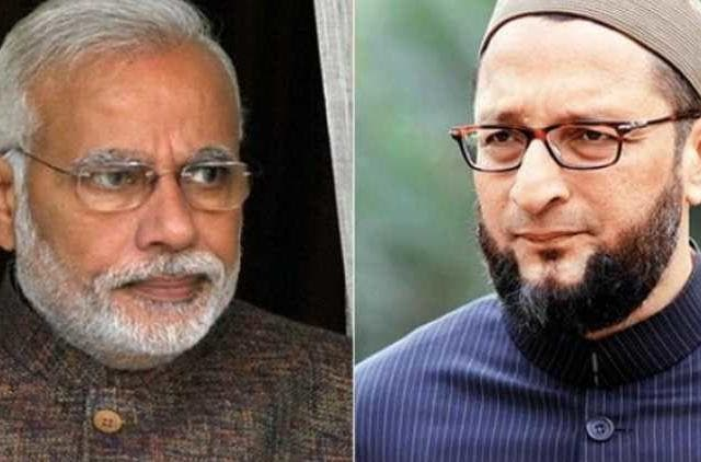 narendra-modi-asaddudin-owaisi-slams-over-pulwama-attack-and-votekar-campaign-politics-india-DKODING