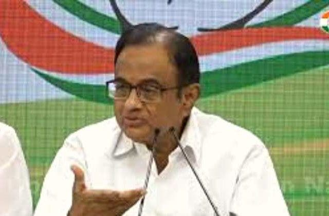 P-Chidambaram-aicc-congress-inc-press-breafing-india-politics-DKODING