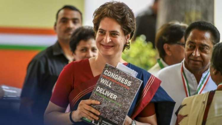 Priyanka Gandhi-urges-people-read-Congress-manifesto-India-Politics-DKODING
