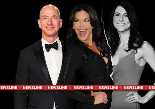 jeff-bezos-macKenzie-bezos-Lauren Sanchez-amazon-divorce-Newsline-DKODING