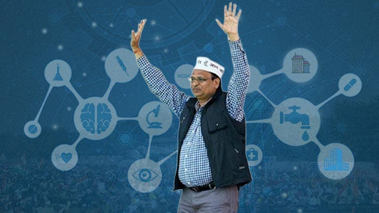AK Cabinet 3.0 — AAP Relies On Satyendar Jain's Innovative Approach For Promises That Matter