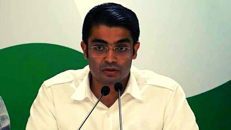 AICC-Press-Briefing-By-Jaiveer-Shergill-At-Congress-HQ-India-Politics-DKODING