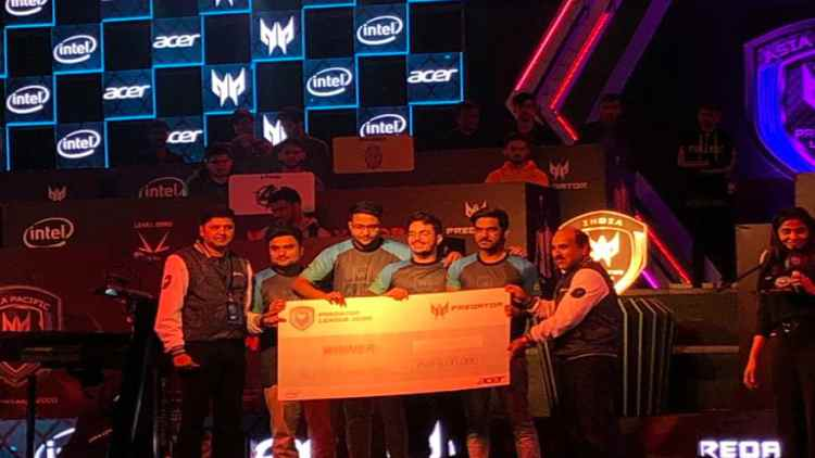 Acer-Predator-Gaming-Leage-India-Finale-2020-winners-Indian-Rivals-Companies-Business-DKODING