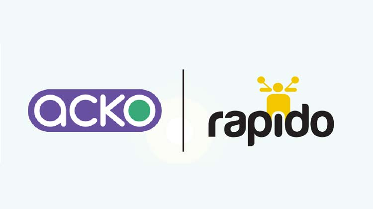 Acko and Rapido come together to insure customers and