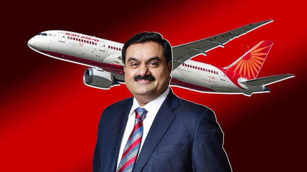 Adani Emerges Favourite To Land Air India After Mumbai Airport Acquisition