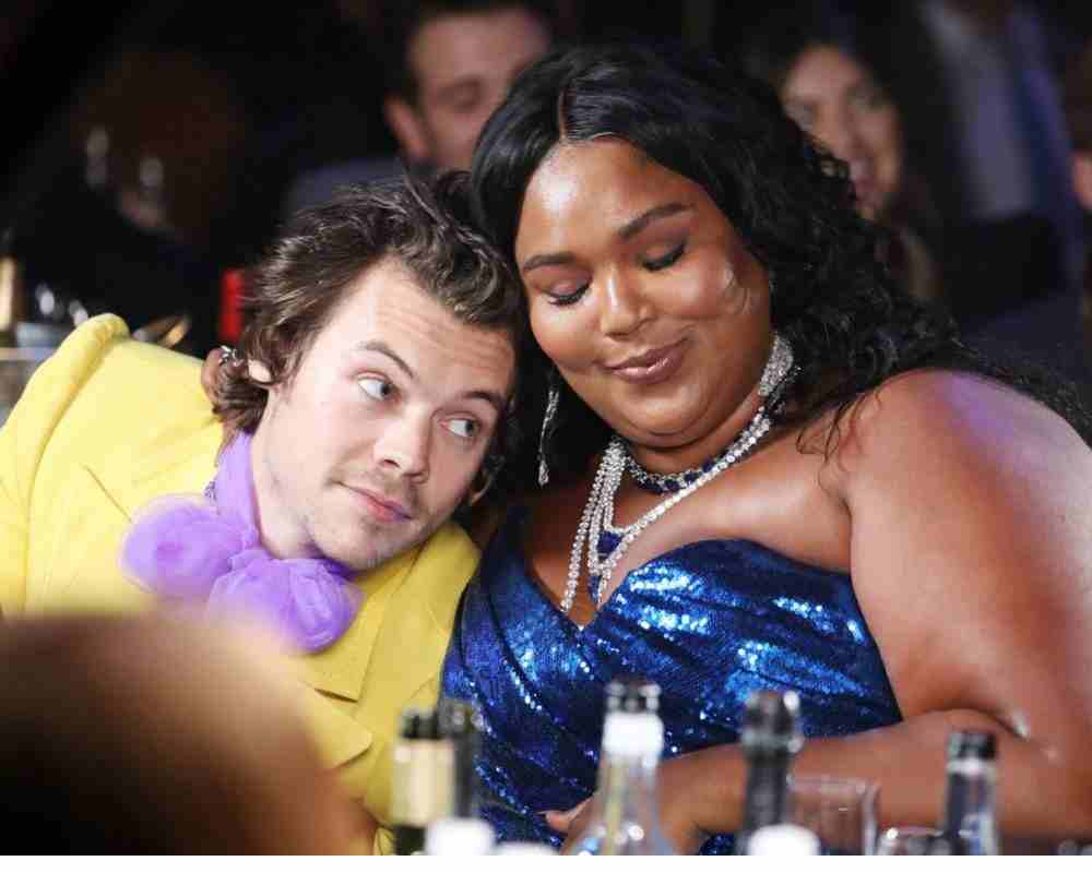 Lizzo slept with Harry revealed in an interview