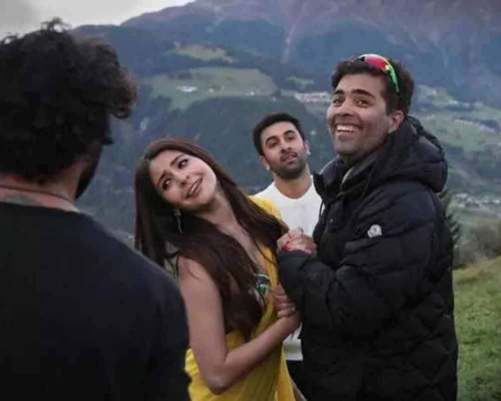 Ranbir and Anushka in ADHM DKODING