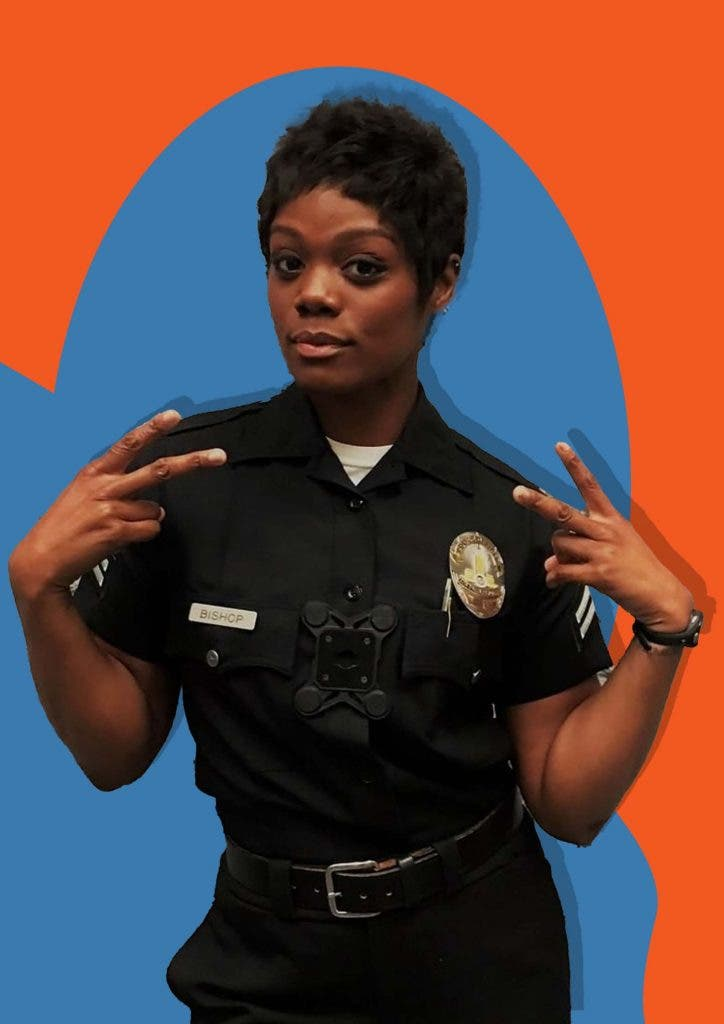 What led to Afton Williamson quitting 'The Rookie' after season 1?