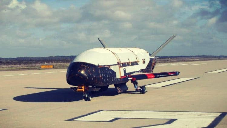 Air Force's mystery space plane Newsshot DKODING