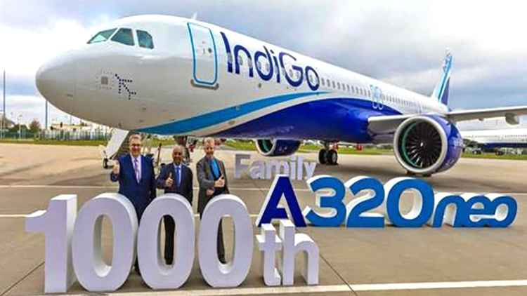 Indigo places Mega order for 300 Airbus jets worth $33 billion