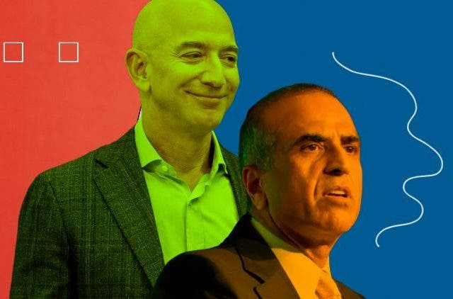 Jeff Bezos' Amazon to invest in Sunil Mittal's Airtel