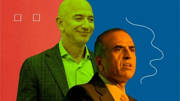 Airtel-Amazon Deal: Bezos And Mittal Refuse To Clear The Air