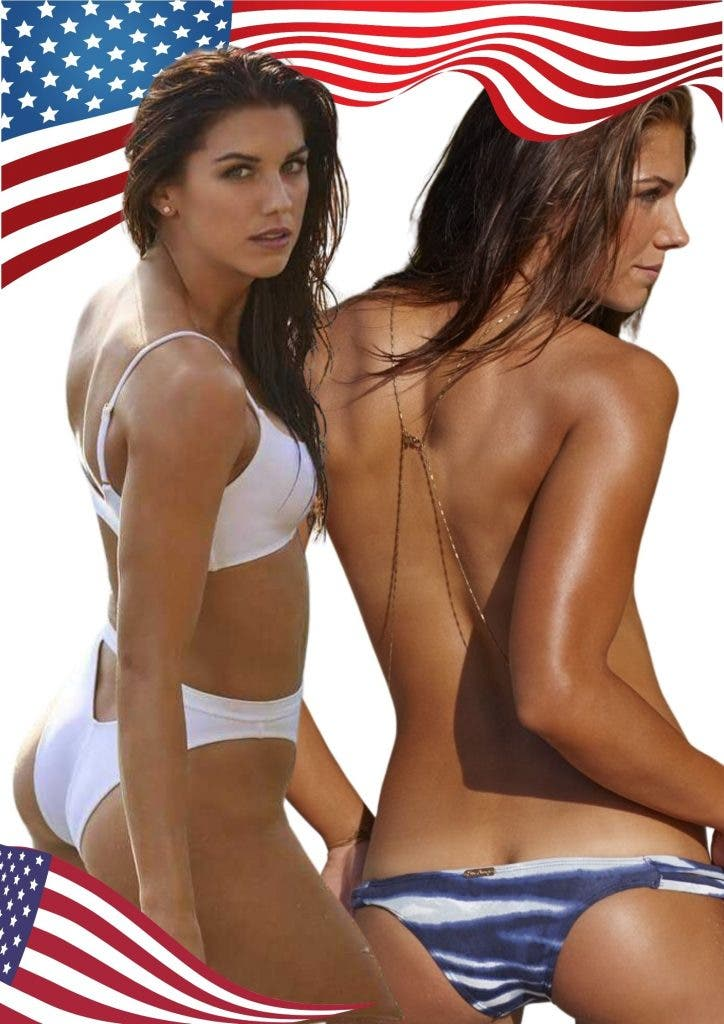 Alex Morgan 21 Hottest Female Athletes In The World In 2020 and women who inspire millions