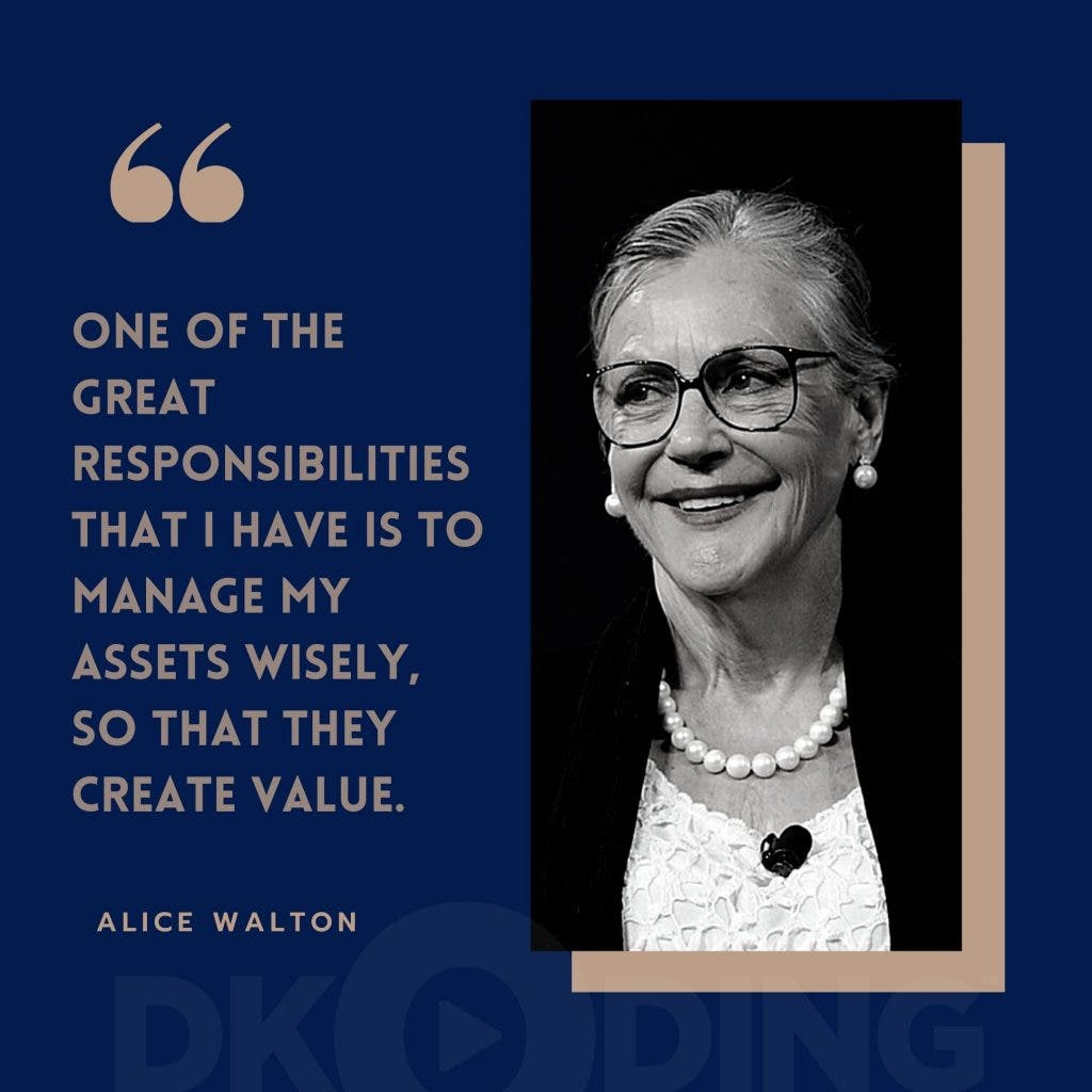 Alice Walton - Richest Woman In The World - Top 10 List