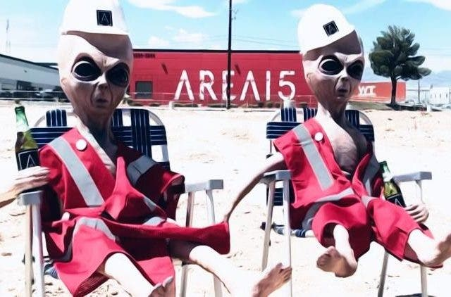 Aliens crack a cold one, watching the WoodRocket parody for Storm Area 51 | NewsShot | DKODING