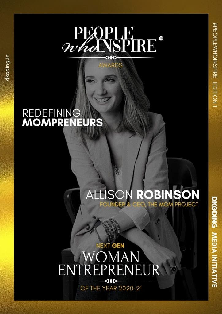 Allison Robinson People Who Inspire PWI Woman Entrepreneur of the Year Award 2020-21