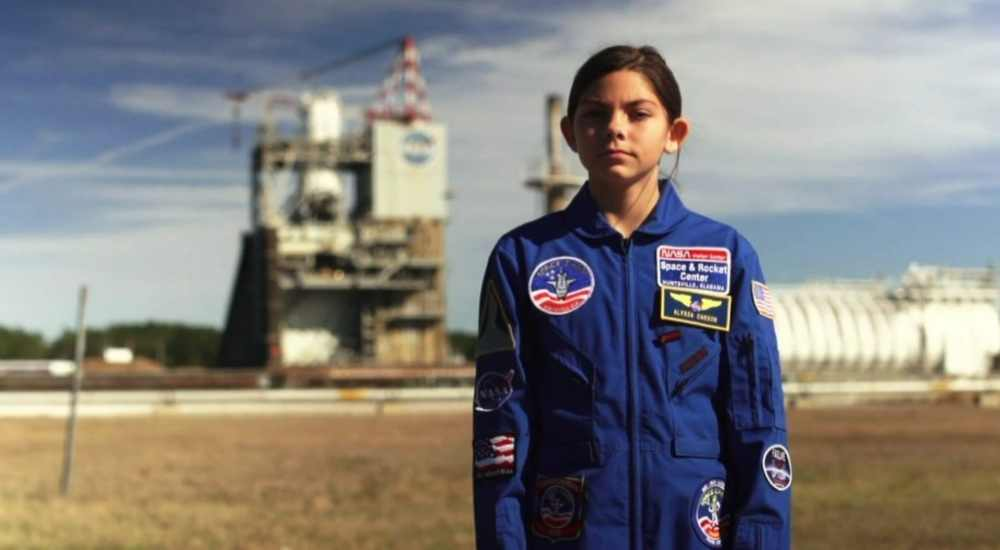 ALyssa Carson, the first human to step foot on Mars