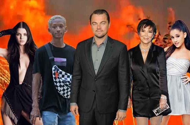 Amazon-Fire-Hollywood-Celebritites-Leonardo-DiCaprio-Jaden-Smith-Kris-Jenner-Trending-Today-DKODING