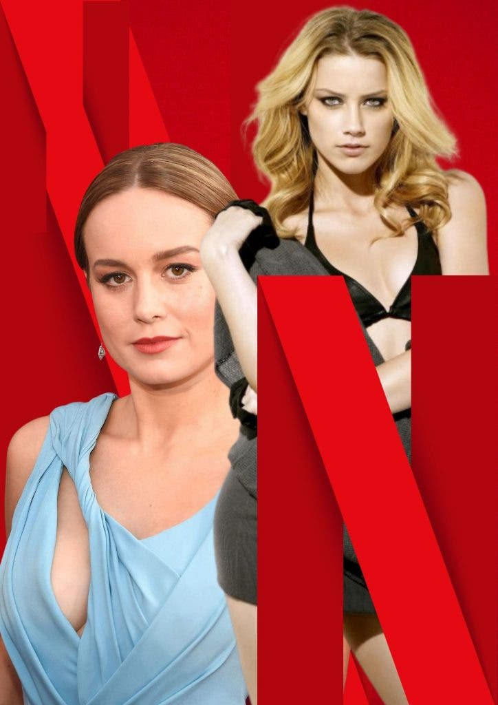 Captain Marvel's Brie Larson and Aquaman's actress Amber Heard to pair together for a Netflix project