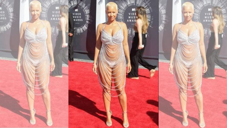 Amber-Rose-Shinning-Outfit-Fashion-And-Beauty-Lifestyle-DKODING