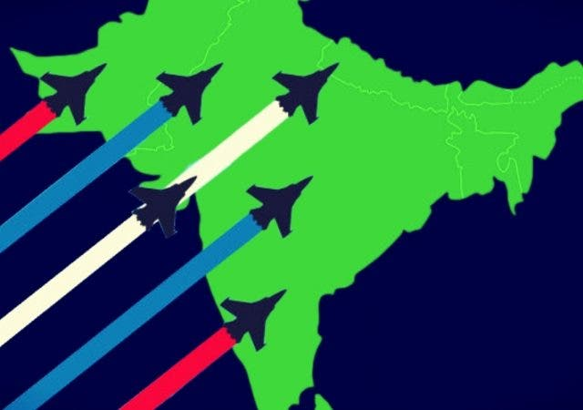 Fighter Jets South Asia