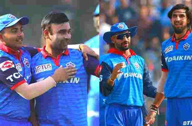 Amit-Mishra-And-Ishant-Sharma-Ipl-2019-Cricket-Sports-DKODING