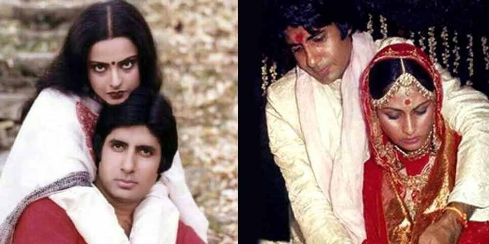 The complicated relationship of Amitabh Bachchan with Jaya and Rekha