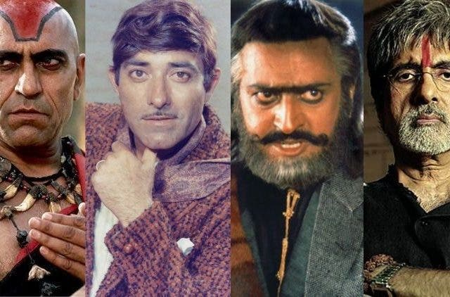 Amrish-Puri-Rajkumar-Gulshan-Grover-Amitabh-Bachchan-Iconic-Voices-Entertainment-Bollywood-DKODING