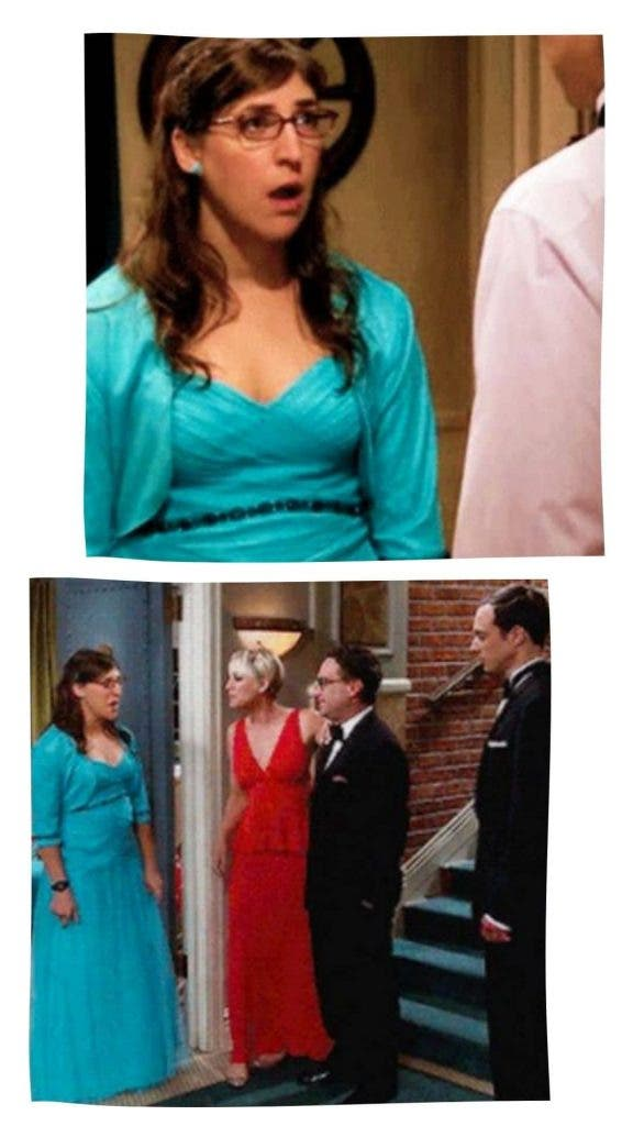 Amy In Prom Dress The Big Bang Theory